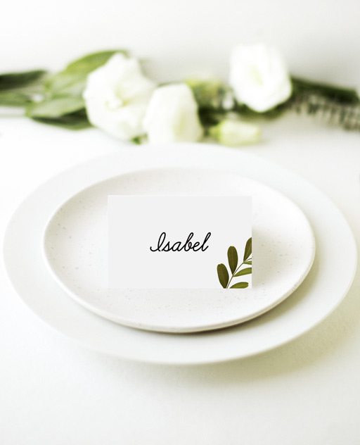 Leif - Place Cards