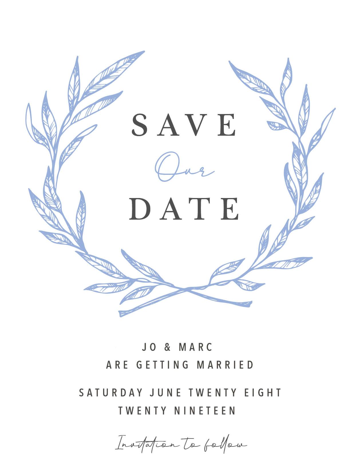Olea - Save The Date