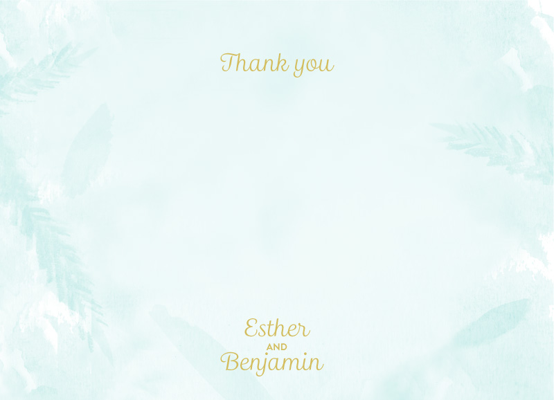 Garden - Thank You Cards
