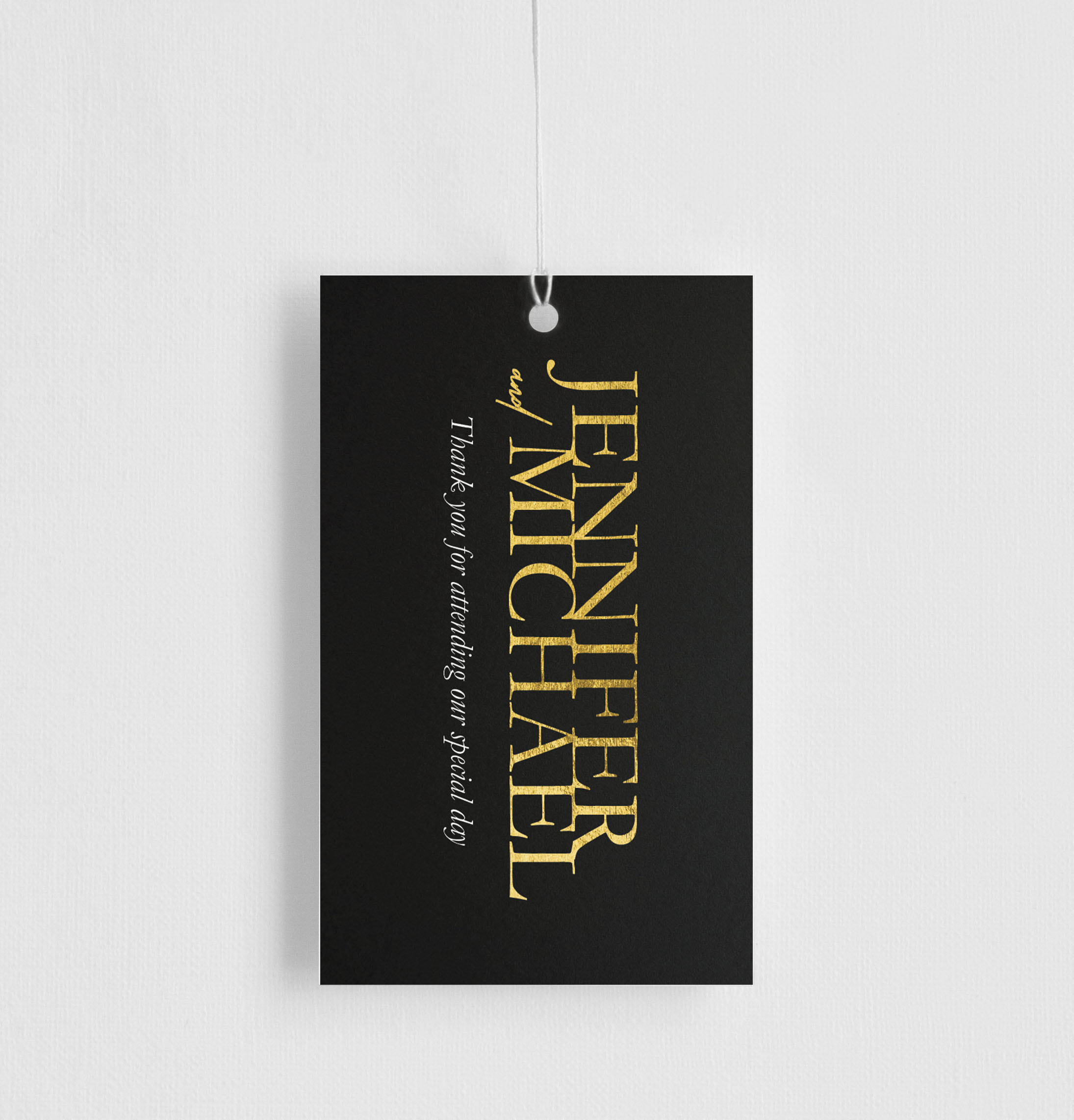 The BWM - Gift Tags