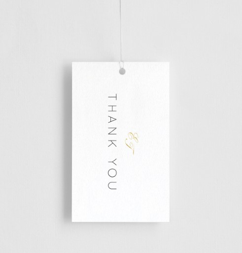 Into The Line - gift tags