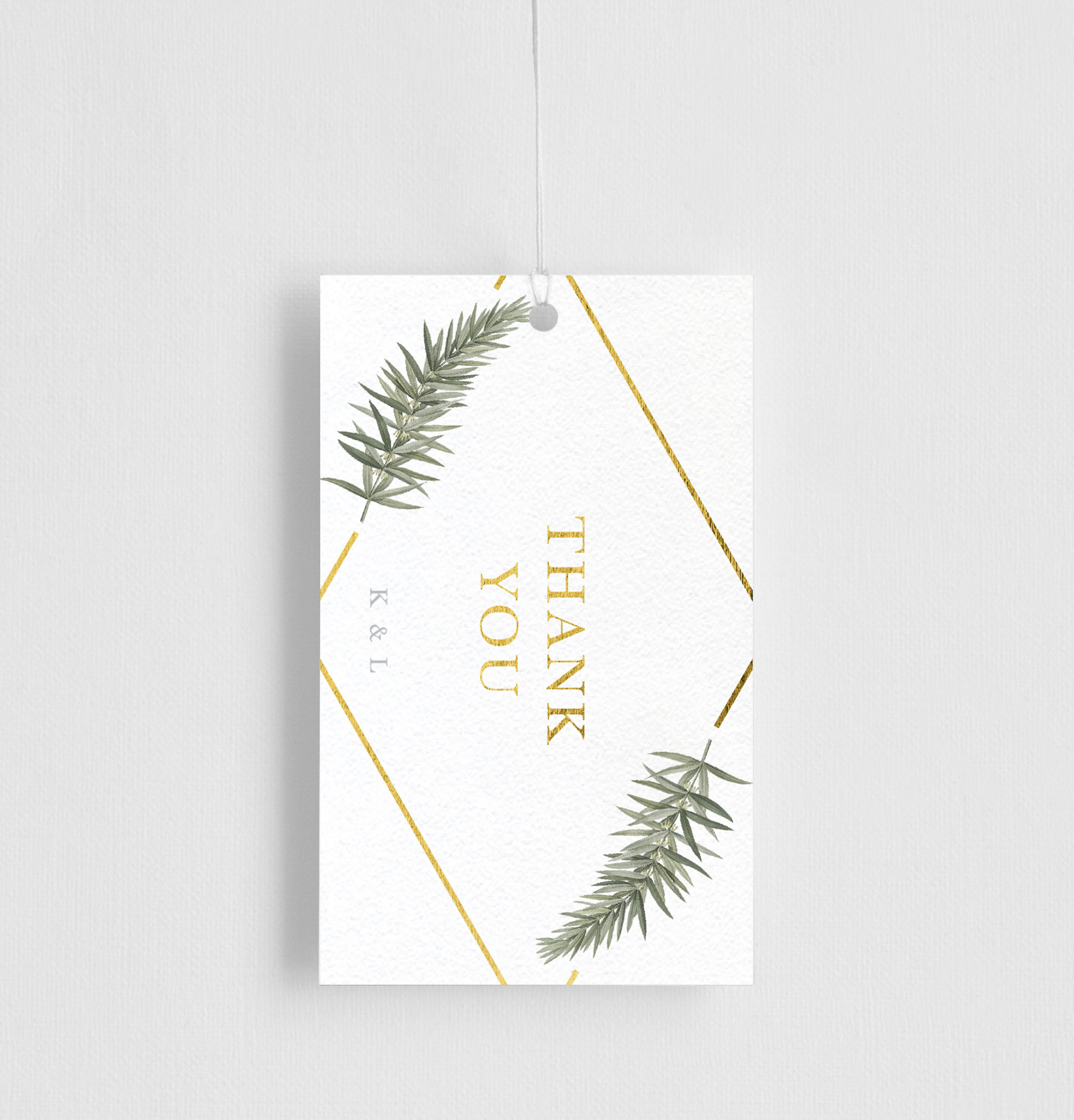 Diamond Branch - Gift Tags