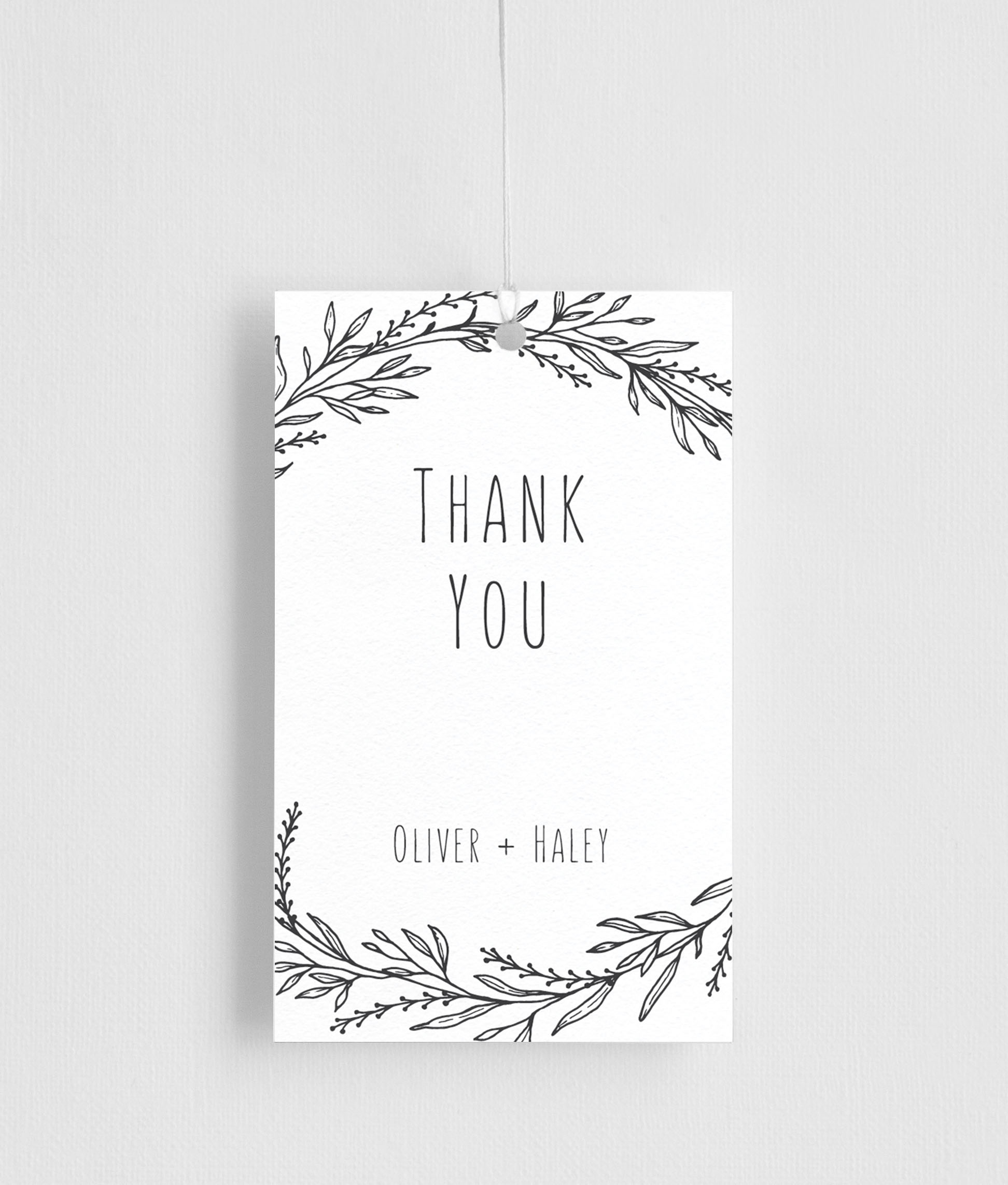 Blank Space - Gift Tags