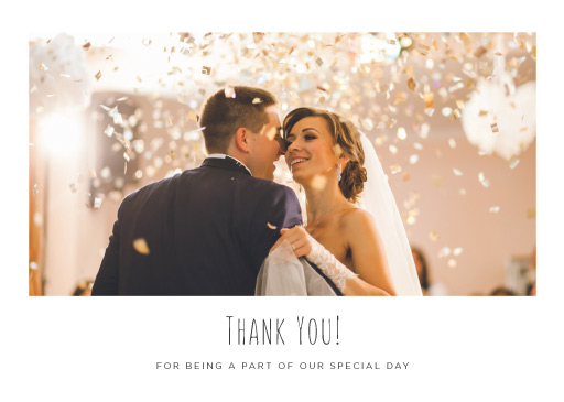 Blank Space - Thank You Cards