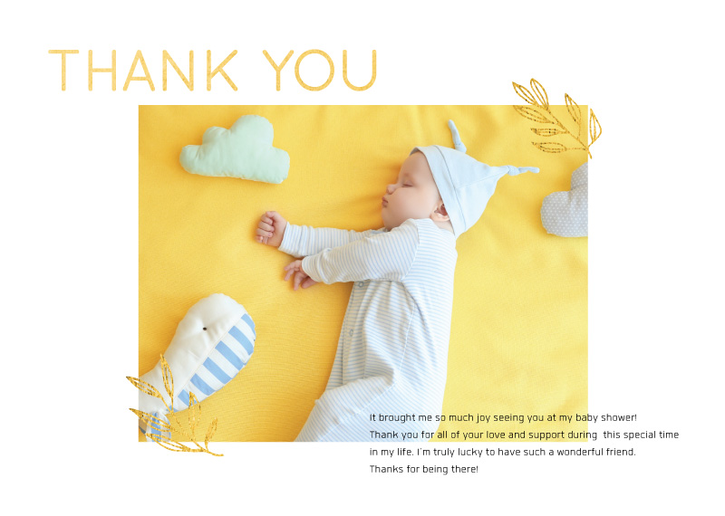 In a Dream - Baby Shower Thank You