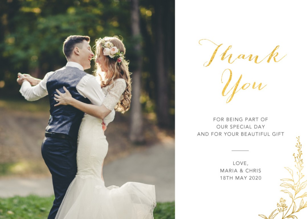 Saint Mary Thank You - Thank You Cards