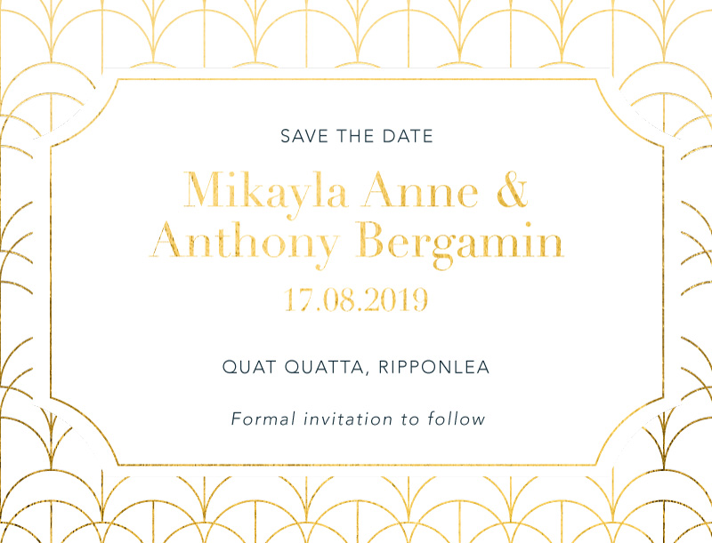 1920 - Save The Date