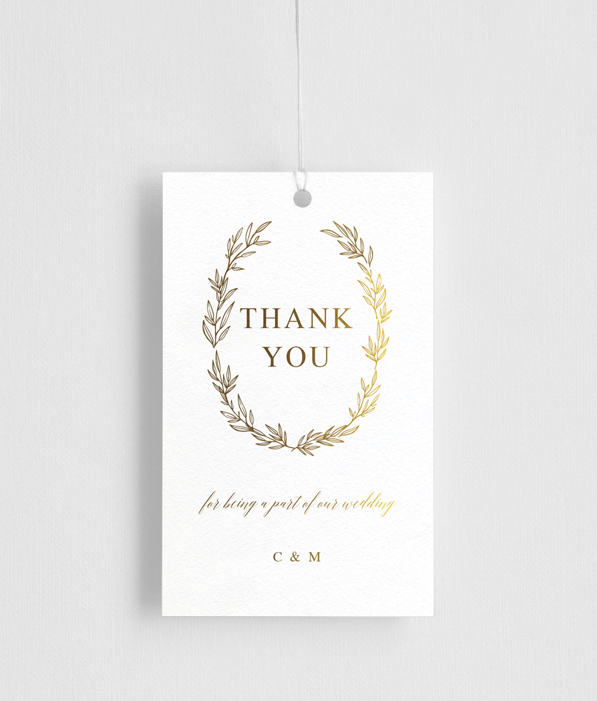 Athena's Crown - Gift Tags