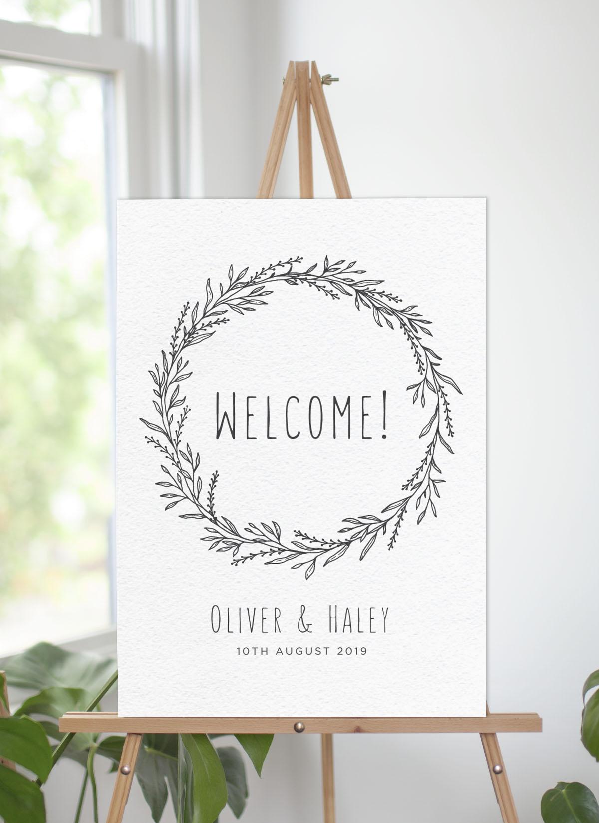 Blank Space - Wedding Signs