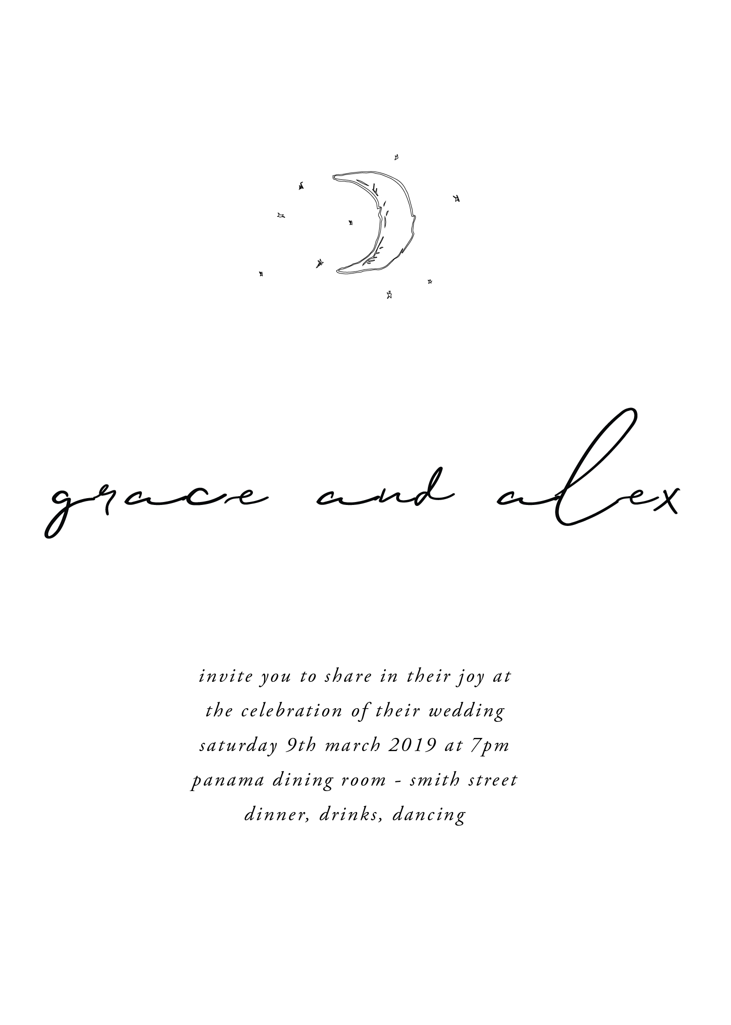 Cosmos - Wedding Invitations