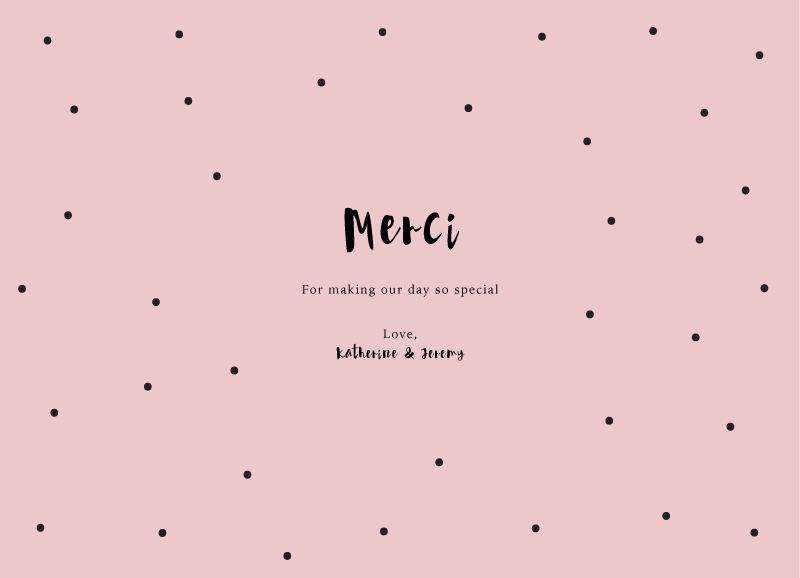 Dots - Thank You Cards