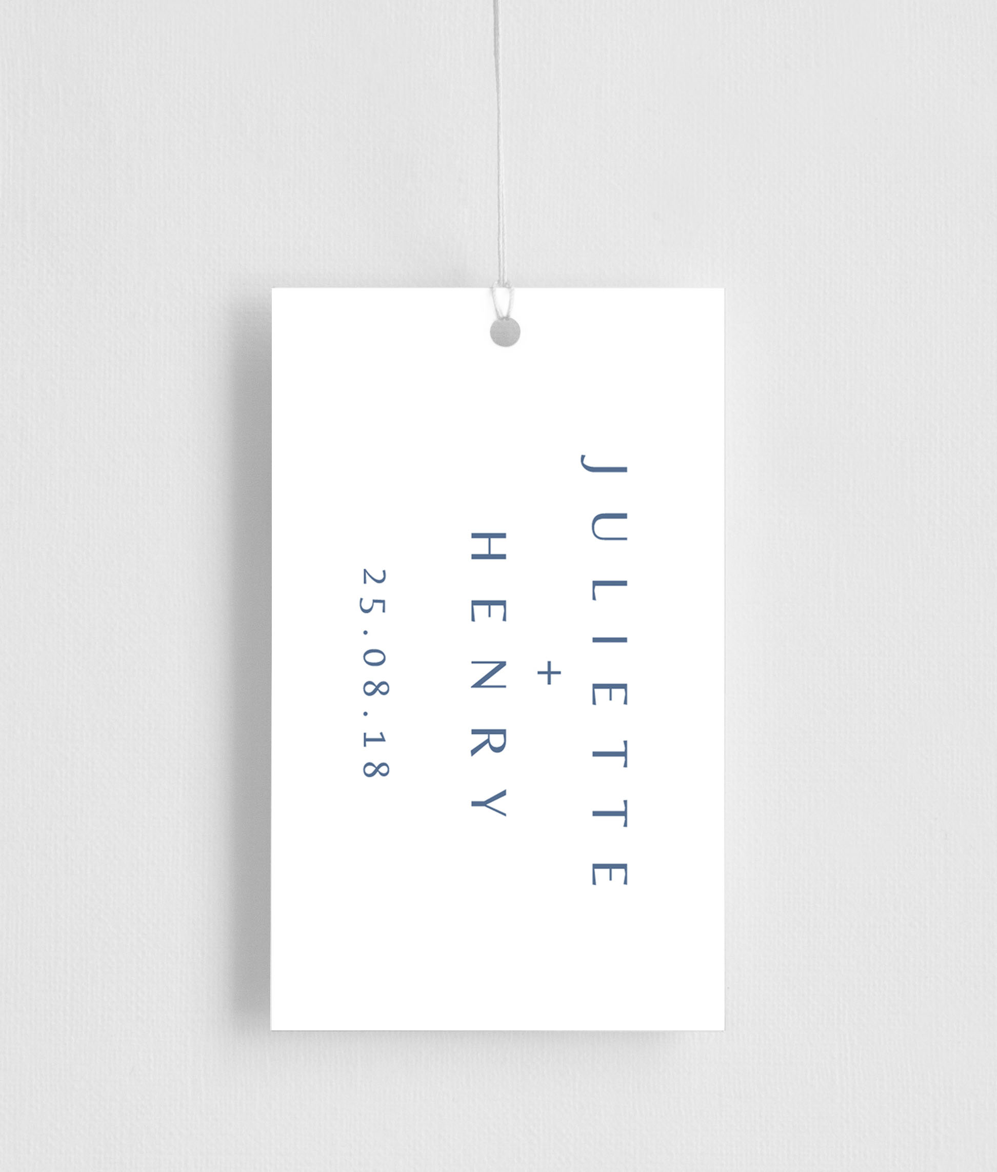 Deep Blue - Gift Tags