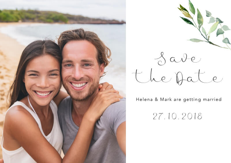 Garden Window - Save The Date