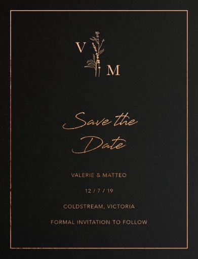 Dark Romance - Save The Date