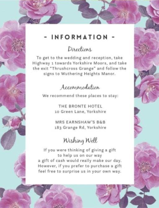 Rosehip - Information Cards