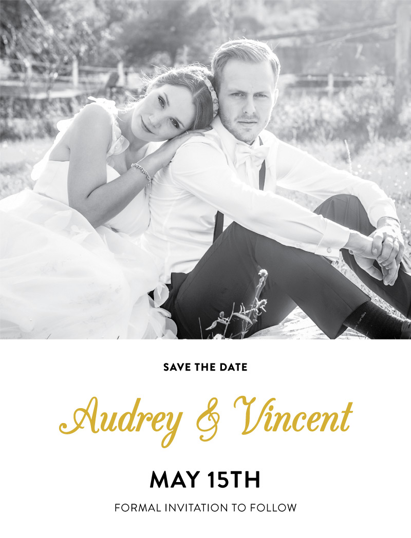 Photo Save the Date - Save The Date