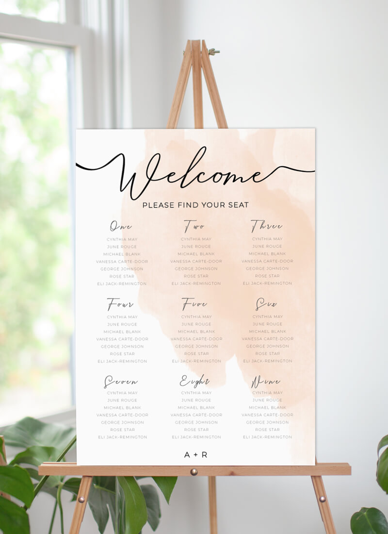 Rosey - Seating Charts