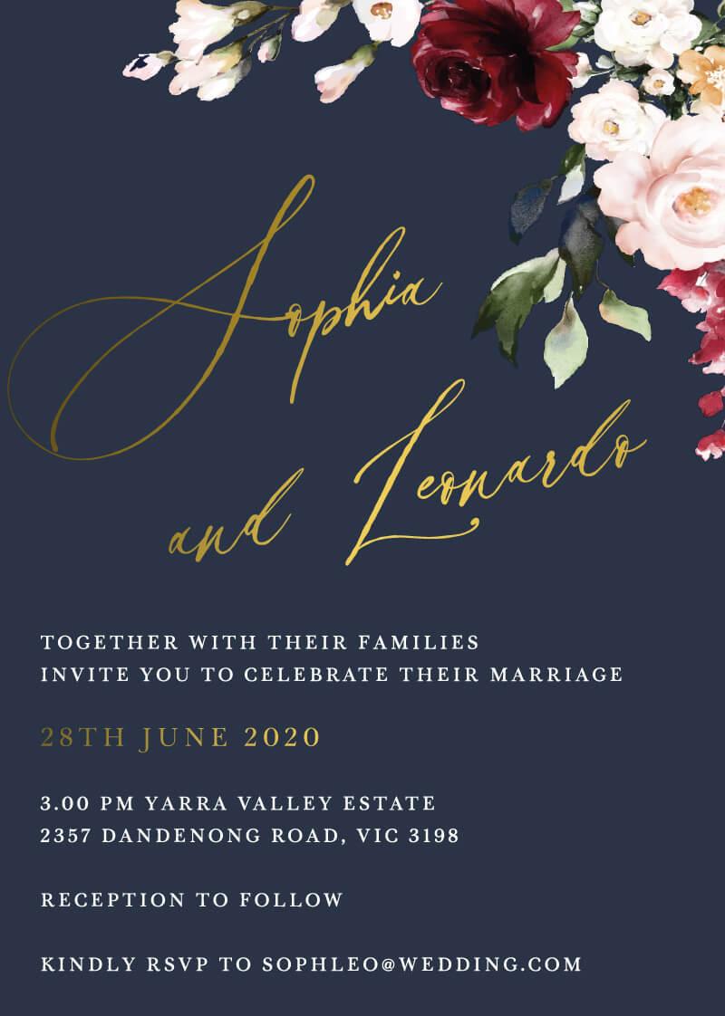 La Butte - Wedding Invitations