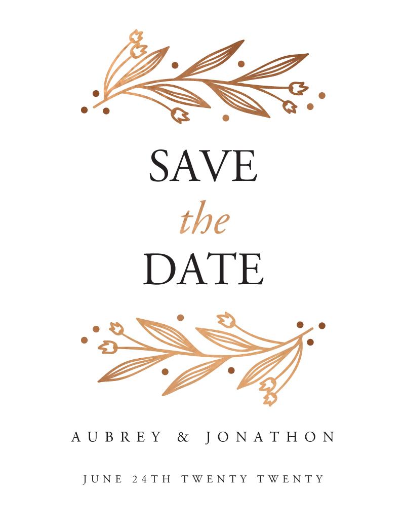Resplendent - Save The Date