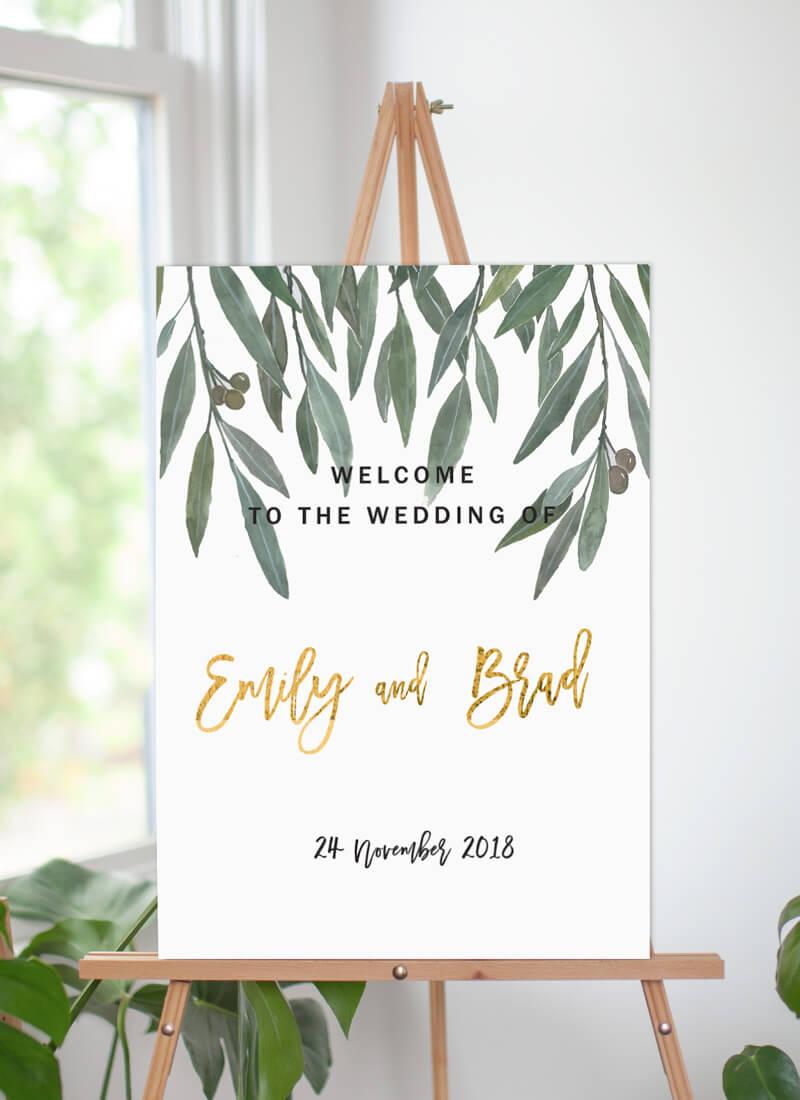 Golden Native - Wedding Signs