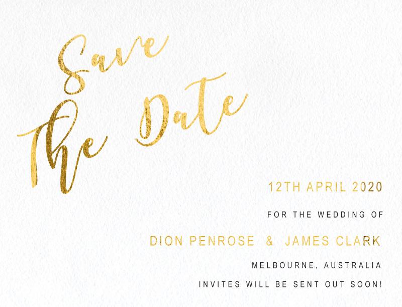 Celebrate - Save The Date