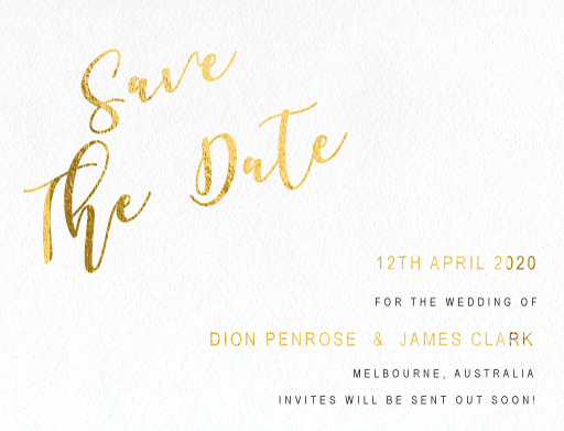Celebrate Save The Date - Save The Date