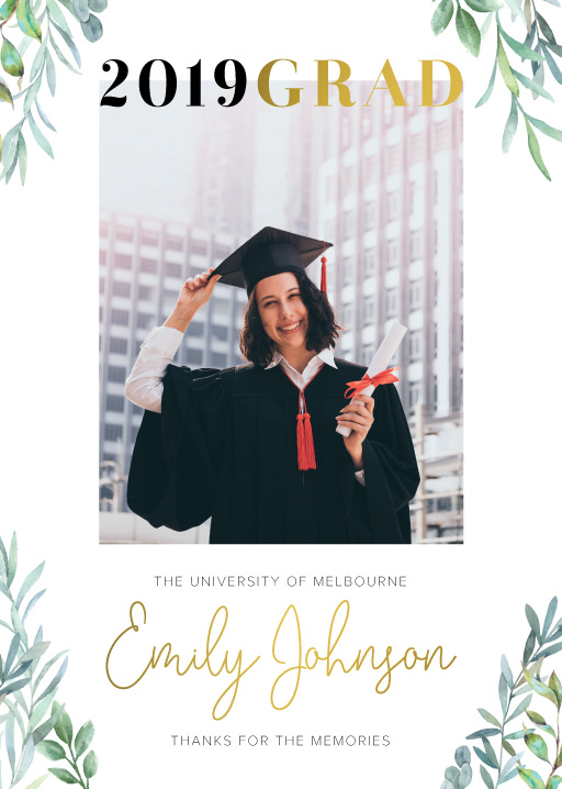 Girl Grad - Graduation Invitations & Announcements