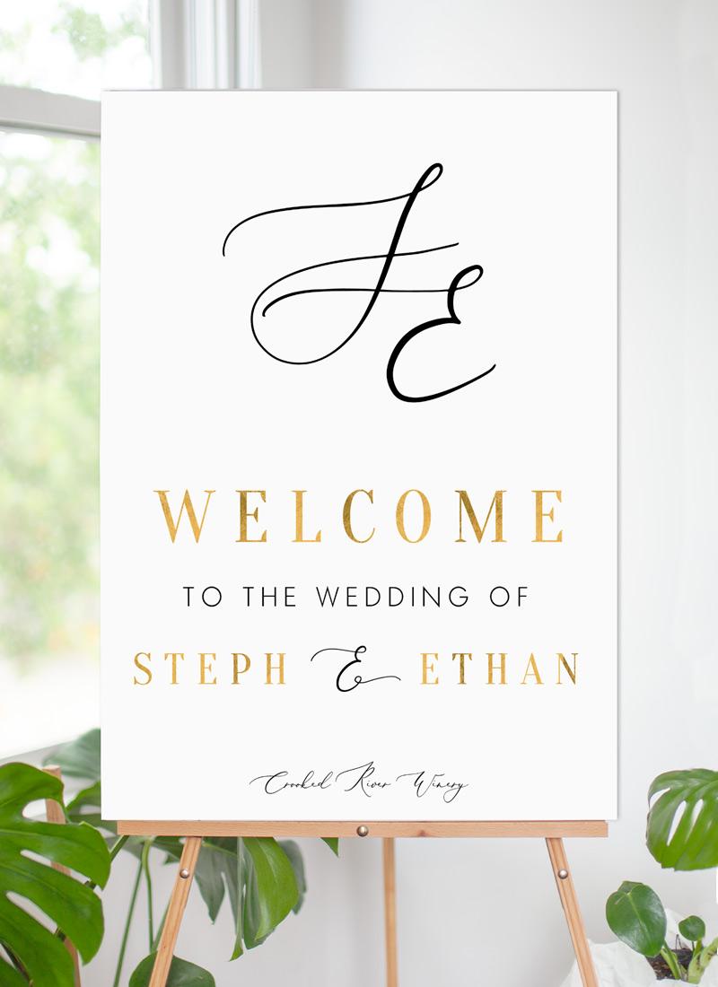 Milieu - Wedding Signs