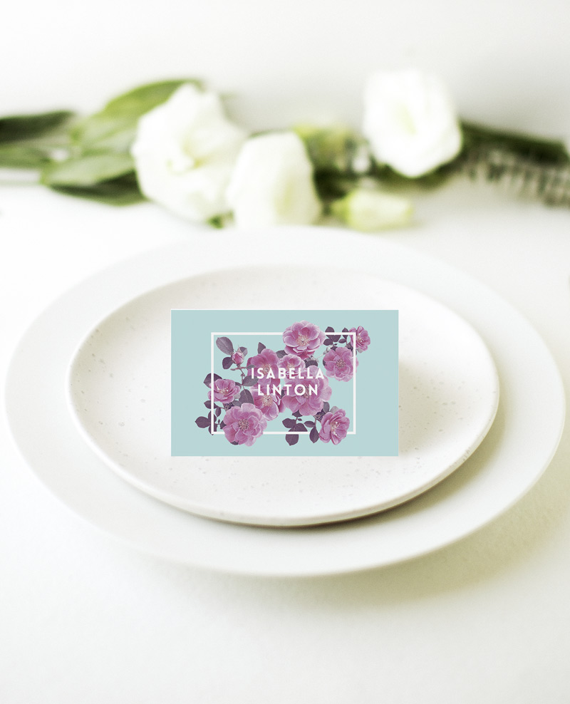 Rosehip - Place Card