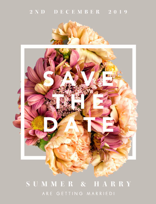 Summer Breeze Save The Date - Save The Date