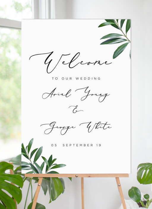 Olive - Welcome Signs
