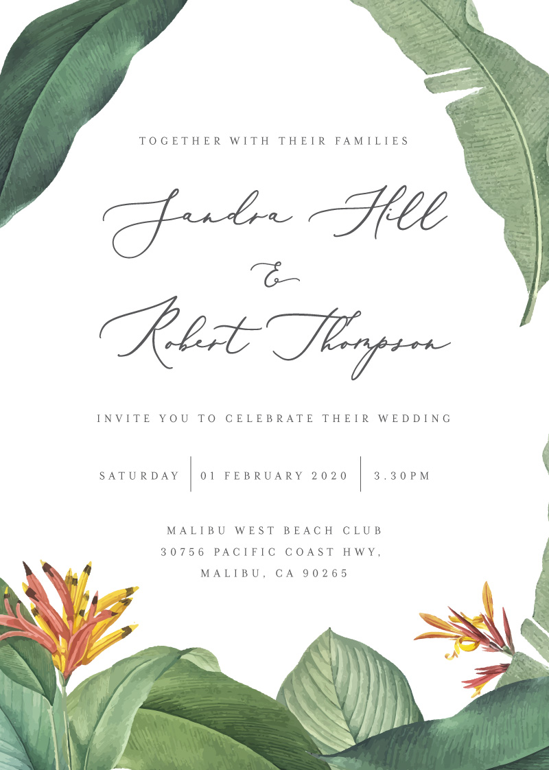 Forest of Love - Wedding Invitations