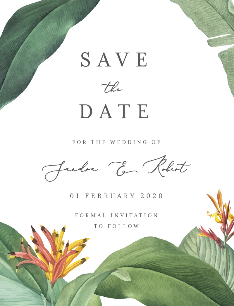 Forest of Love - Save The Date