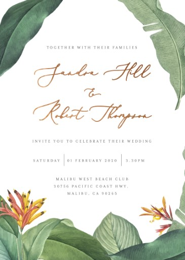 Forest of Love Wedding Invitations - wedding invitations