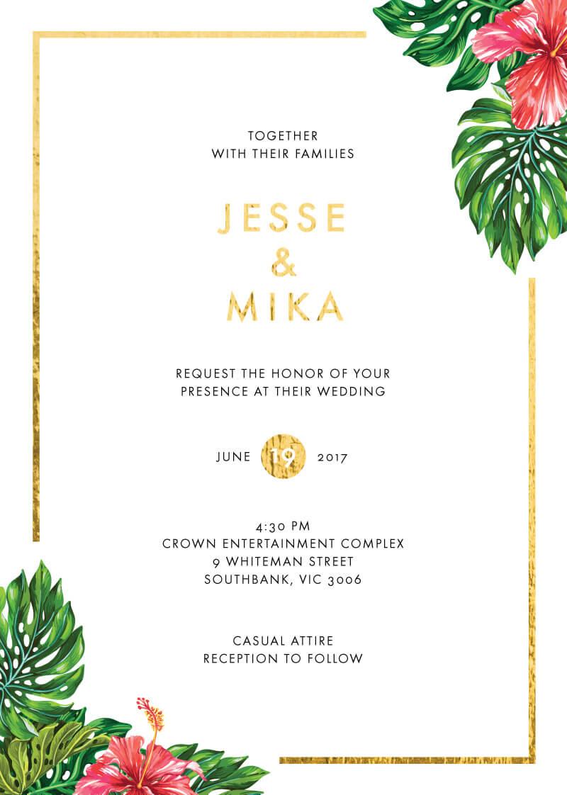 Swarga - Wedding Invitations