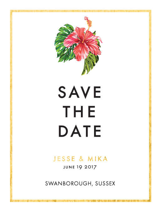Swarga Save The Date - Save The Date