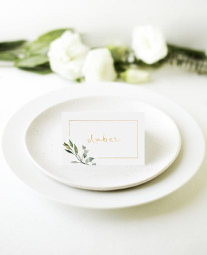 Garden Window - Place Cards