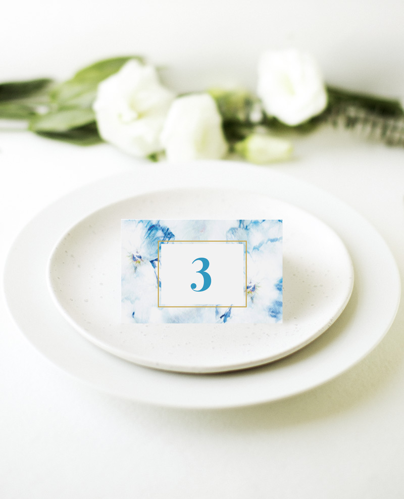 Peacock - Place Card