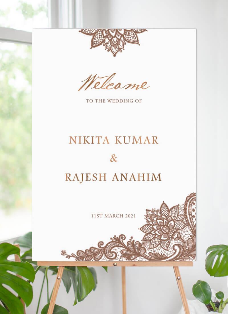 Tirumana Henna - Wedding Signs