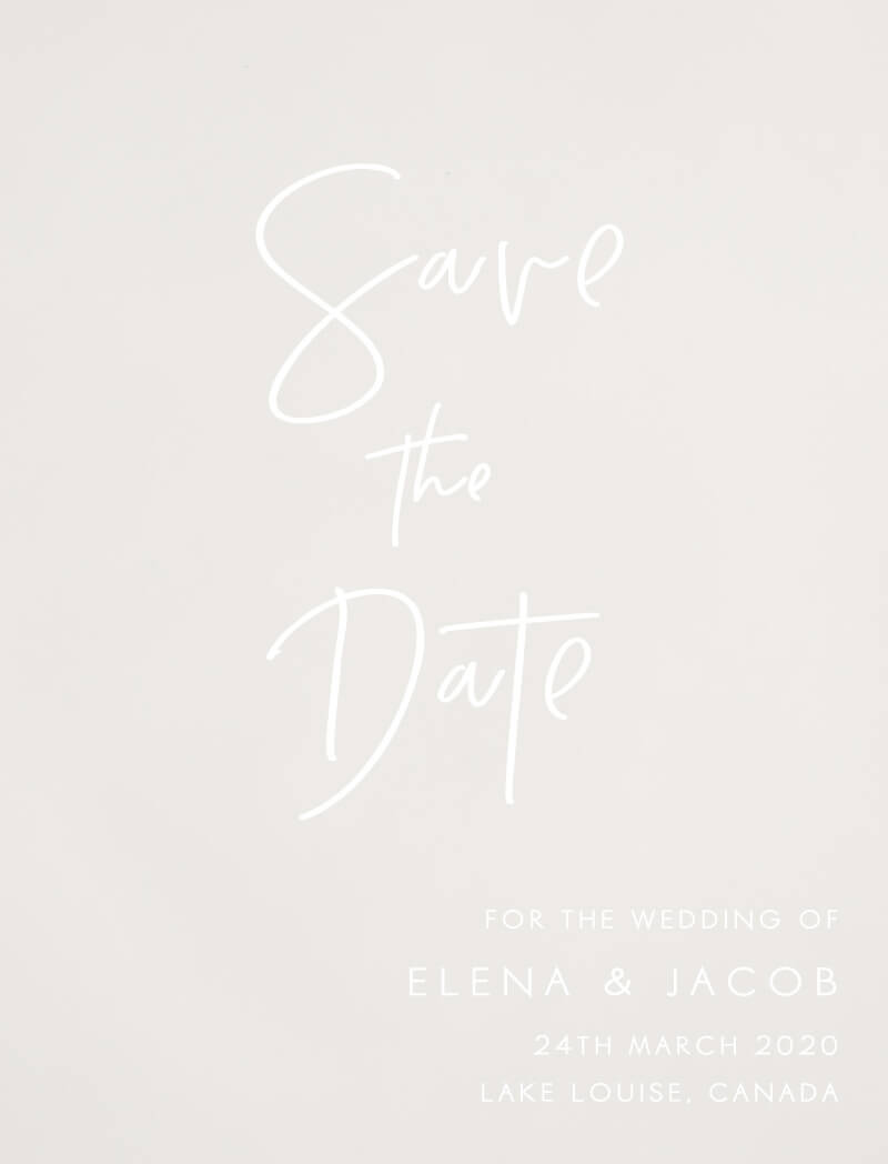 Clair de Lune - Save The Date