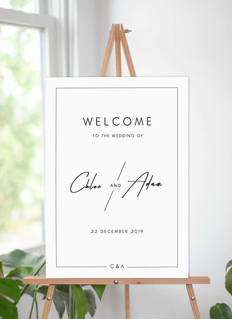 Modern Mode - Welcome Signs