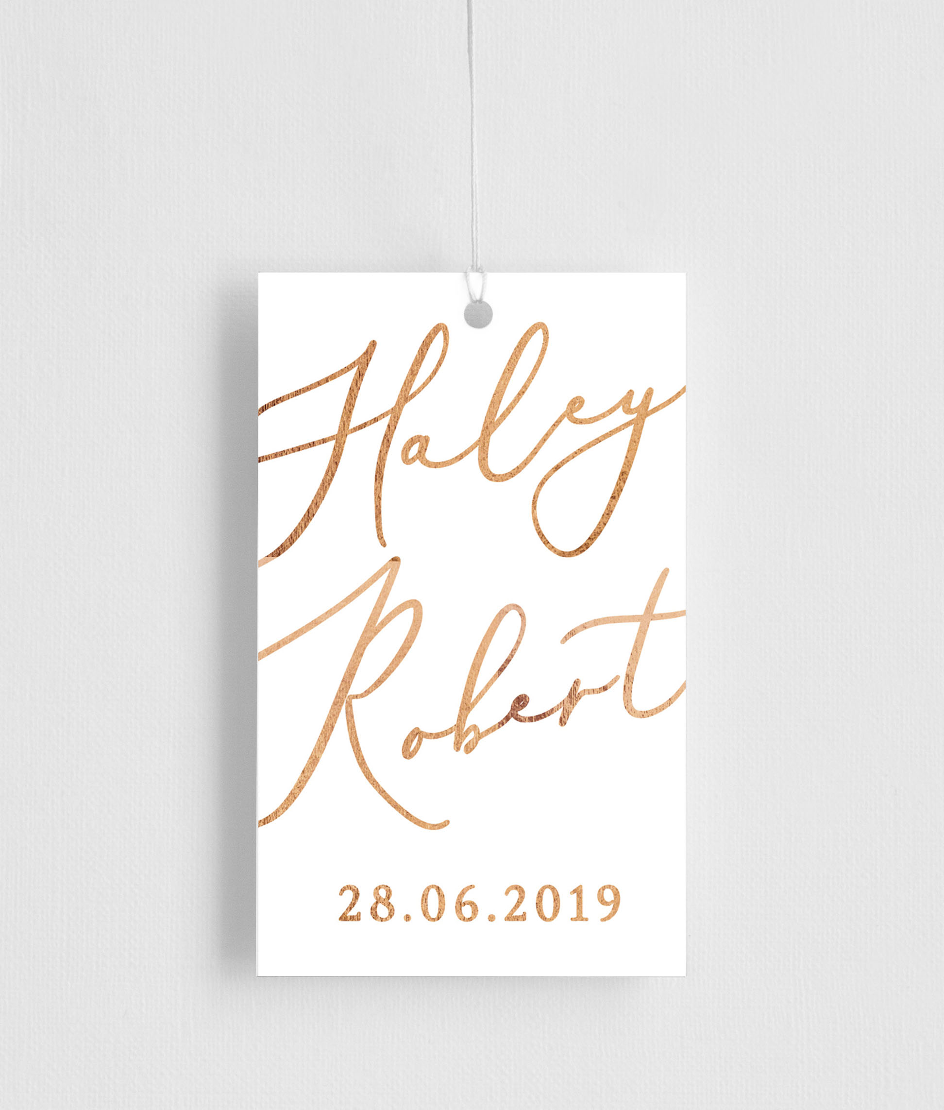 Rose Et Gris - Gift Tags