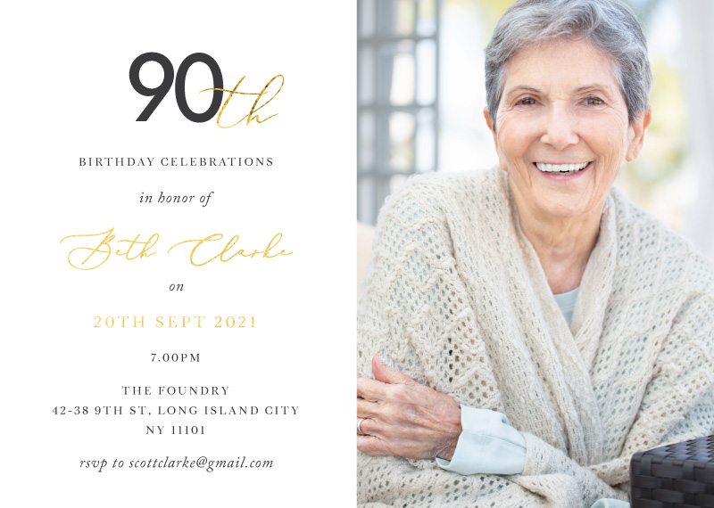 Pearls of Wisdom - Birthday Invitations