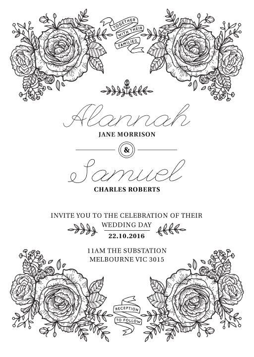Botanic - Invitations