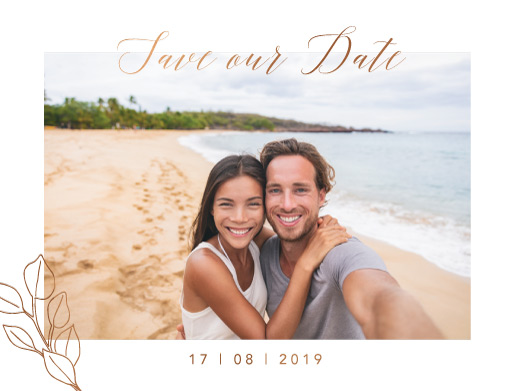 The King Protea Save The Date - Save The Date