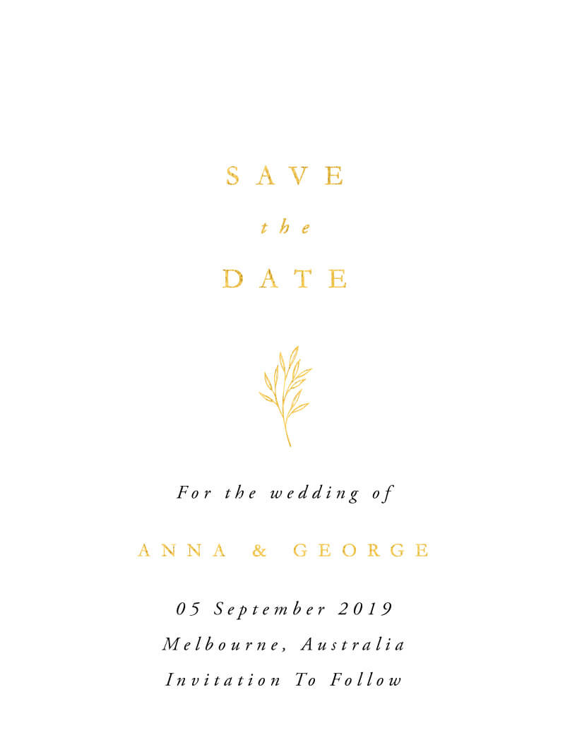 Luna - Save The Date
