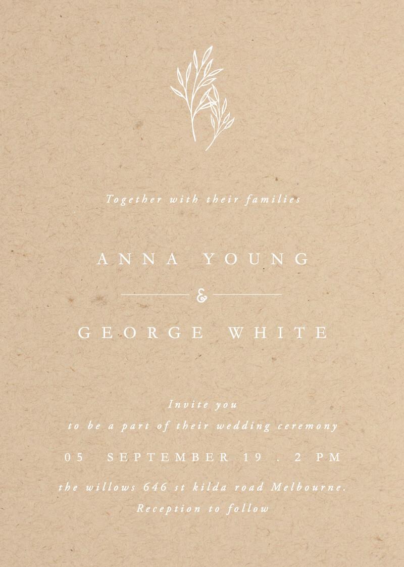 Luna - Wedding Invitations