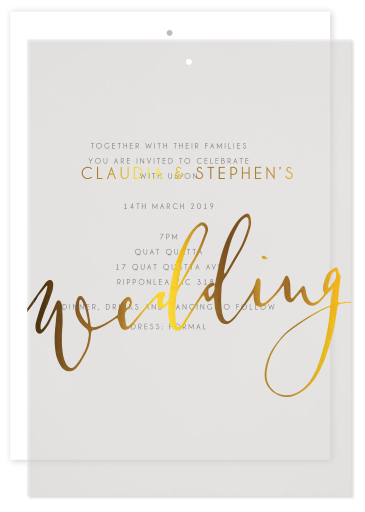 Ink and Nib Wedding Invitations - wedding invitations