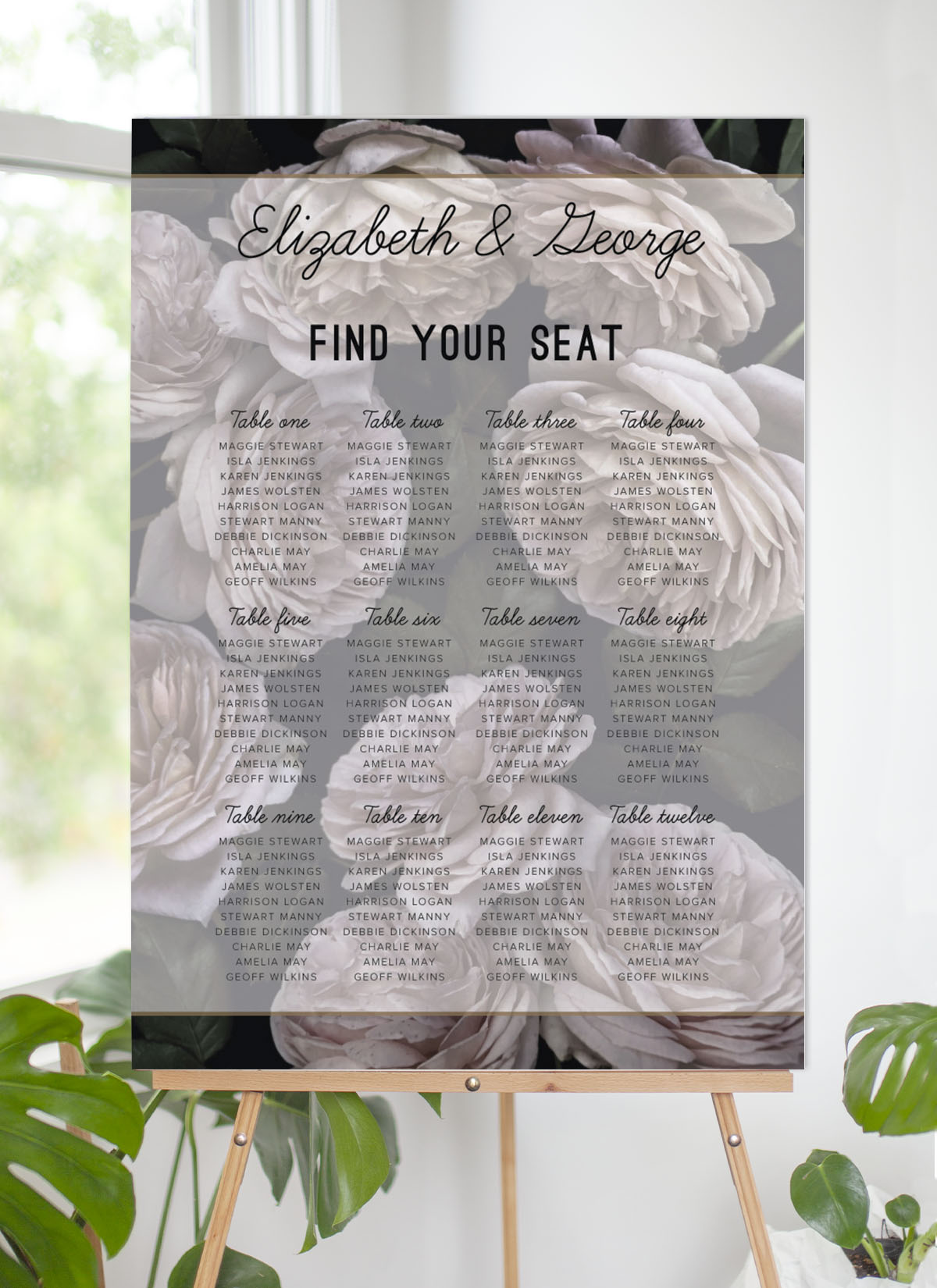 Myrtle Gentry - Seating Charts