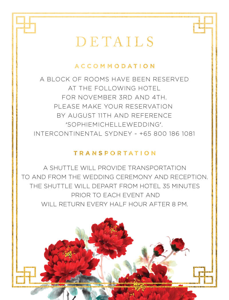 Red Peony - Information